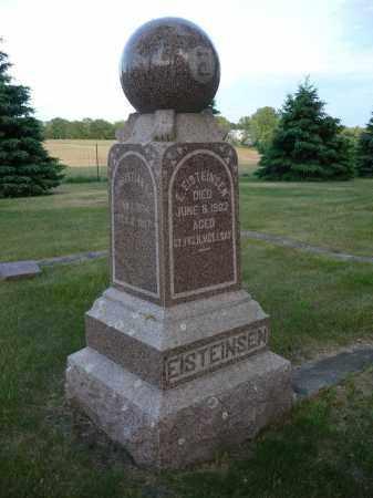 EISTEINSEN, CHRISTIANNA - Minnehaha County, South Dakota | CHRISTIANNA EISTEINSEN - South Dakota Gravestone Photos