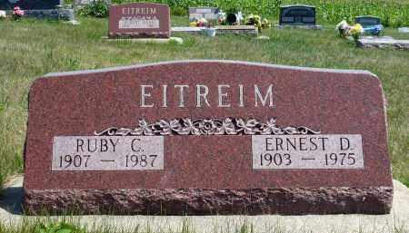 EITREIM, RUBY C. - Minnehaha County, South Dakota | RUBY C. EITREIM - South Dakota Gravestone Photos