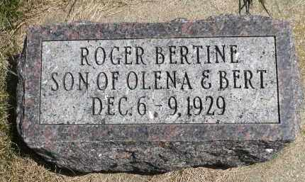 EITREIM, ROGER BERTINE - Minnehaha County, South Dakota | ROGER BERTINE EITREIM - South Dakota Gravestone Photos