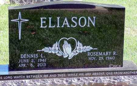 ELIASON, DENNIS L. - Minnehaha County, South Dakota   DENNIS L. ELIASON - South Dakota Gravestone Photos