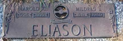 ELIASON, HAROLD C. - Minnehaha County, South Dakota   HAROLD C. ELIASON - South Dakota Gravestone Photos