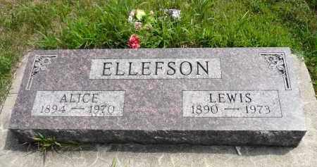 ELLEFSON, ALICE - Minnehaha County, South Dakota | ALICE ELLEFSON - South Dakota Gravestone Photos