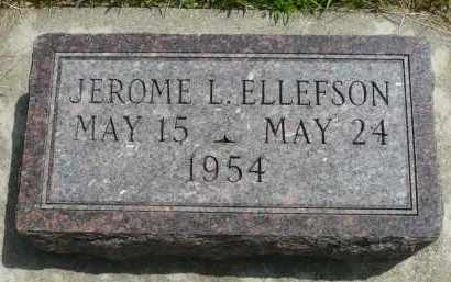 ELLEFSON, JEROME L. - Minnehaha County, South Dakota | JEROME L. ELLEFSON - South Dakota Gravestone Photos