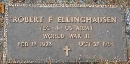 ELLINGHAUSEN, ROBERT F. - Minnehaha County, South Dakota | ROBERT F. ELLINGHAUSEN - South Dakota Gravestone Photos