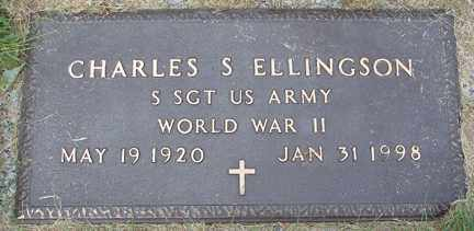 ELLINGSON, CHARLES S. (WWII) - Minnehaha County, South Dakota | CHARLES S. (WWII) ELLINGSON - South Dakota Gravestone Photos