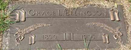 ELLINGSON, GRACE L. - Minnehaha County, South Dakota | GRACE L. ELLINGSON - South Dakota Gravestone Photos