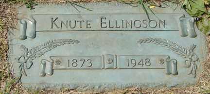 ELLINGSON, KNUTE - Minnehaha County, South Dakota | KNUTE ELLINGSON - South Dakota Gravestone Photos