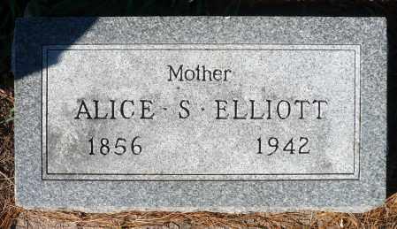 STICKNEY ELLIOTT, ALICE - Minnehaha County, South Dakota   ALICE STICKNEY ELLIOTT - South Dakota Gravestone Photos
