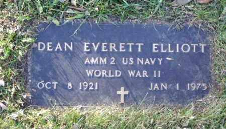 ELLIOTT, DEAN EVERETT - Minnehaha County, South Dakota | DEAN EVERETT ELLIOTT - South Dakota Gravestone Photos