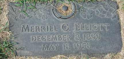 ELLIOTT, MERRILL G. - Minnehaha County, South Dakota | MERRILL G. ELLIOTT - South Dakota Gravestone Photos