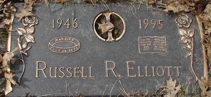 ELLIOTT, RUSSELL R. - Minnehaha County, South Dakota | RUSSELL R. ELLIOTT - South Dakota Gravestone Photos