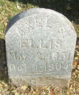 ELLIS, AXEL S. - Minnehaha County, South Dakota | AXEL S. ELLIS - South Dakota Gravestone Photos