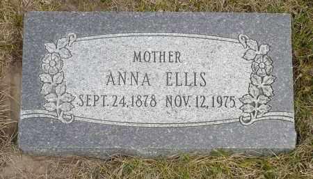 ELLIS, ANNA - Minnehaha County, South Dakota | ANNA ELLIS - South Dakota Gravestone Photos