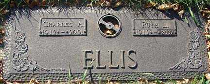 ELLIS, CHARLES A. - Minnehaha County, South Dakota | CHARLES A. ELLIS - South Dakota Gravestone Photos