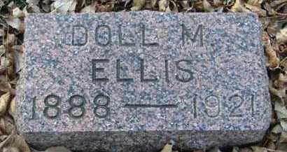 ELLIS, DOLL M. - Minnehaha County, South Dakota | DOLL M. ELLIS - South Dakota Gravestone Photos