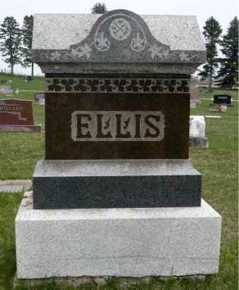 ELLIS, FAMILY MARKER - Minnehaha County, South Dakota | FAMILY MARKER ELLIS - South Dakota Gravestone Photos