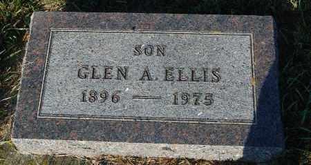 ELLIS, GLEN A. - Minnehaha County, South Dakota | GLEN A. ELLIS - South Dakota Gravestone Photos