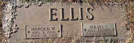 ELLIS, HAROLD W. - Minnehaha County, South Dakota | HAROLD W. ELLIS - South Dakota Gravestone Photos