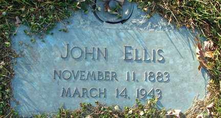 ELLIS, JOHN - Minnehaha County, South Dakota | JOHN ELLIS - South Dakota Gravestone Photos