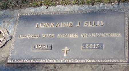 ELLIS, LORRAINE J. - Minnehaha County, South Dakota   LORRAINE J. ELLIS - South Dakota Gravestone Photos
