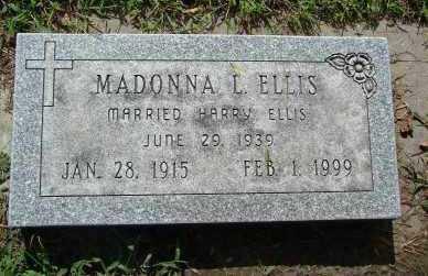ELLIS, MADONNA L. - Minnehaha County, South Dakota   MADONNA L. ELLIS - South Dakota Gravestone Photos