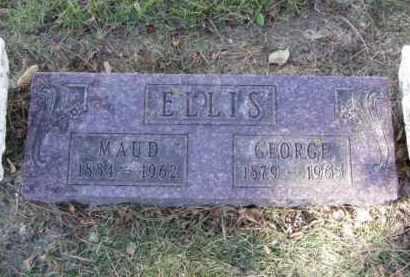 ELLIS, GEORGE - Minnehaha County, South Dakota   GEORGE ELLIS - South Dakota Gravestone Photos