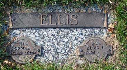 ELLIS, ELSIE H. - Minnehaha County, South Dakota | ELSIE H. ELLIS - South Dakota Gravestone Photos
