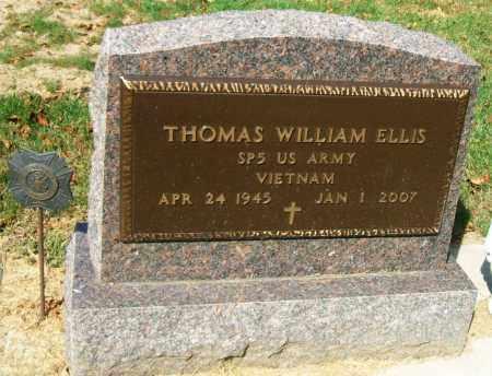 ELLIS, THOMAS WILLIAM - Minnehaha County, South Dakota | THOMAS WILLIAM ELLIS - South Dakota Gravestone Photos