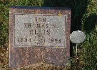 ELLIS, THOMAS N. - Minnehaha County, South Dakota | THOMAS N. ELLIS - South Dakota Gravestone Photos