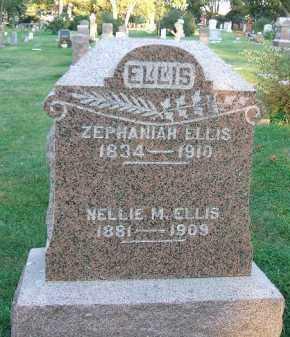 ELLIS, ZEPHANIAH - Minnehaha County, South Dakota | ZEPHANIAH ELLIS - South Dakota Gravestone Photos