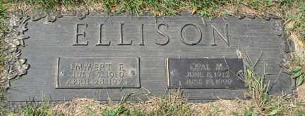 ELLISON, IMMERT F. - Minnehaha County, South Dakota | IMMERT F. ELLISON - South Dakota Gravestone Photos