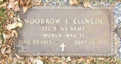 ELLWEIN, WOODROW I. - Minnehaha County, South Dakota | WOODROW I. ELLWEIN - South Dakota Gravestone Photos
