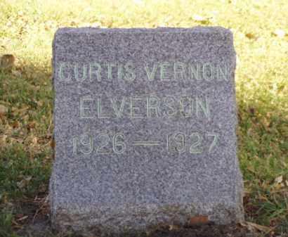 ELVERSON, CURTIS VERNON - Minnehaha County, South Dakota | CURTIS VERNON ELVERSON - South Dakota Gravestone Photos