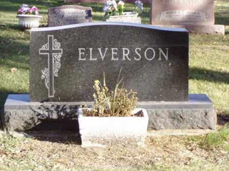 ELVERSON, FAMILY MARKER - Minnehaha County, South Dakota | FAMILY MARKER ELVERSON - South Dakota Gravestone Photos