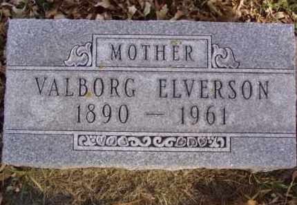 ELVERSON, VALBORG - Minnehaha County, South Dakota | VALBORG ELVERSON - South Dakota Gravestone Photos
