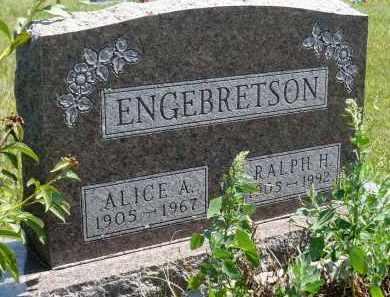 ENGEBRETSON, RALPH H. - Minnehaha County, South Dakota | RALPH H. ENGEBRETSON - South Dakota Gravestone Photos