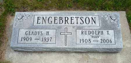 ENGEBRETSON, RUDOLPH T. - Minnehaha County, South Dakota | RUDOLPH T. ENGEBRETSON - South Dakota Gravestone Photos