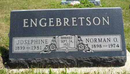 ENGEBRETSON, JOSEPHINE - Minnehaha County, South Dakota | JOSEPHINE ENGEBRETSON - South Dakota Gravestone Photos