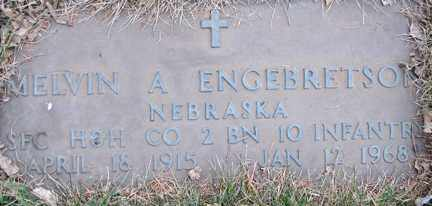 ENGEBRETSON, MELVIN A. - Minnehaha County, South Dakota | MELVIN A. ENGEBRETSON - South Dakota Gravestone Photos
