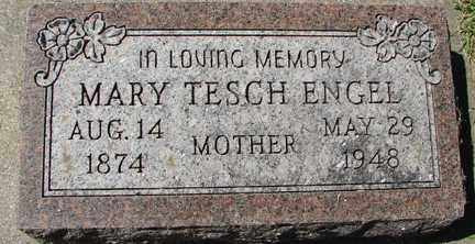 TESCH ENGEL, MARY - Minnehaha County, South Dakota | MARY TESCH ENGEL - South Dakota Gravestone Photos
