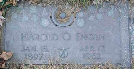 ENGEN, HAROLD O. - Minnehaha County, South Dakota | HAROLD O. ENGEN - South Dakota Gravestone Photos