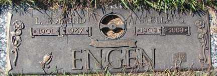 ENGEN, L. EDMOND - Minnehaha County, South Dakota | L. EDMOND ENGEN - South Dakota Gravestone Photos