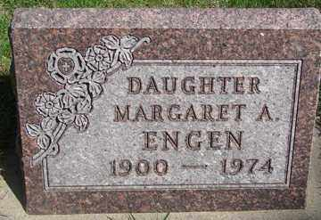 ENGEN, MARGARET A. - Minnehaha County, South Dakota   MARGARET A. ENGEN - South Dakota Gravestone Photos
