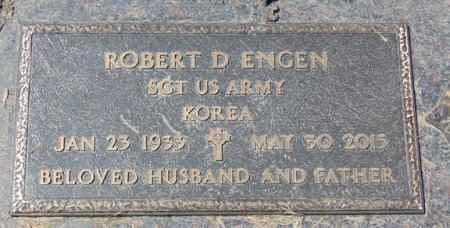 ENGEN, ROBERT D. - Minnehaha County, South Dakota | ROBERT D. ENGEN - South Dakota Gravestone Photos