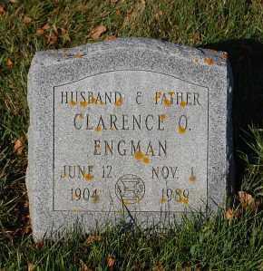 ENGMAN, CLARENCE O. - Minnehaha County, South Dakota | CLARENCE O. ENGMAN - South Dakota Gravestone Photos