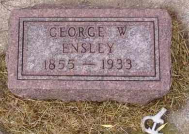 ENSLEY, GEORGE W. - Minnehaha County, South Dakota   GEORGE W. ENSLEY - South Dakota Gravestone Photos