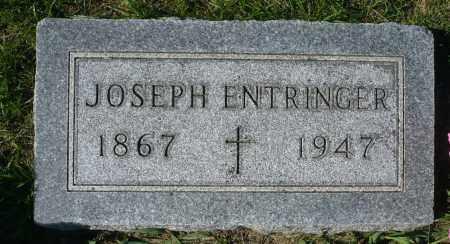 ENTRINGER, JOSEPH - Minnehaha County, South Dakota   JOSEPH ENTRINGER - South Dakota Gravestone Photos