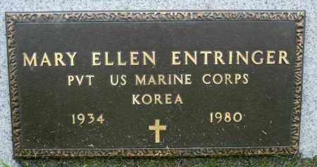 ENTRINGER, MARY ELLEN (KOREA) - Minnehaha County, South Dakota | MARY ELLEN (KOREA) ENTRINGER - South Dakota Gravestone Photos