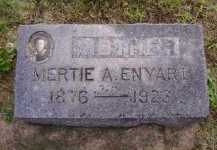 ENYART, MERTIE A. - Minnehaha County, South Dakota | MERTIE A. ENYART - South Dakota Gravestone Photos