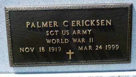 ERICKSEN, PALMER C. (WWII) - Minnehaha County, South Dakota | PALMER C. (WWII) ERICKSEN - South Dakota Gravestone Photos
